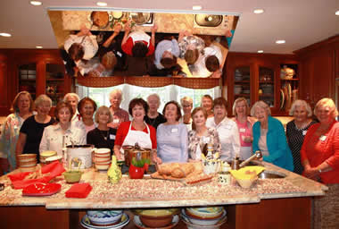 Are you tired of the same old parties and cannot figure out what to do....?  Why not have a cooking party!